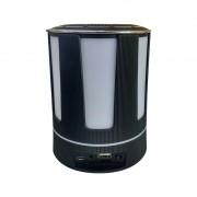 Luminária Abajur Caixa de Som Bluetooth Mp3 Aux
