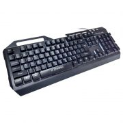 Teclado Gamer de Metal com LED Multicolorido