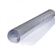 Autoadesivo Alumínio para Cozinha Anti Óleo e Sujeira A prova d´água 2M Com Textura