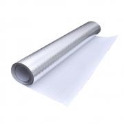 Autoadesivo Alumínio para Cozinha Anti Óleo e Sujeira A prova d´água 5M Liso