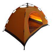 Barraca Acampamento 3 Pessoas 200cm X 120cm Montagem Rápida Tela Anti Mosquito