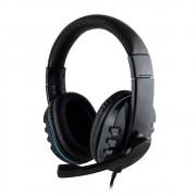 Fone de Ouvido Headphone Gamer Microfone Entrada 3,5mm Para PC PS4 Xbox One