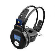 Fone de Ouvido Sem Fio Cartão de Memória SD MP3
