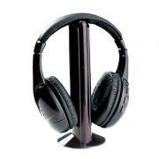 Fone de Ouvido Sem Fio Microfone Baba Eletrônica Radio FM