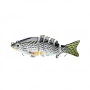 Isca Artificial Articulada Formato de Peixe para Pescaria Modelo 3