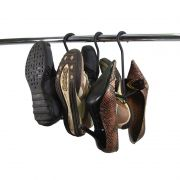 Kit 2 Cabides Seca Tênis Sapatos Expositor