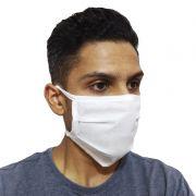 kit 50 Máscaras de Proteção Descartável Camada Dupla Fita Tiras Para Amarrar Contra Gripe Vírus