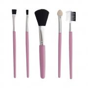 Kit com 5 Pincéis Profissional Para Maquiagem Feminino