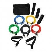 Kit Elásticos Para Exercícios Multi Tarefas Resistente Fitness