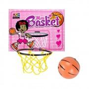 Kit Mini Basket Tabela Cesta Bola Jogo de Basquete Brinquedo