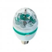 Lâmpada Giratória LED RGB para Festas