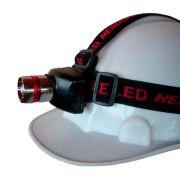 Lanterna LED Profissional Recarregável para a Cabeça