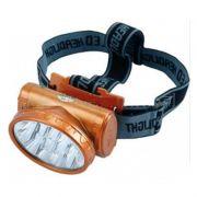 Lanterna Recarregável com 13 LEDs para Cabeça