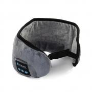 Máscara Tapa Olho de Dormir Com Fone de Ouvido Bluetooth Embutido USB