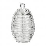 Meleira Porta Mel com Dosador Dispenser em Acrílico Honey Jar 200ml