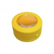 Mini Lupa Lanterna LED Multifuncional Manual Amplificadora