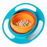 Prato Giratório Infantil Bebê Pratinho Mágico 360 Não Derrama A Comida Gyro Bowl