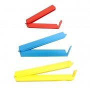 Prendedor Plástico Para Embalagem Com 8 Unidades
