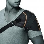 Protetor Esquenta Ombro Alívio Rápido Recuperação Ajustável Unissex