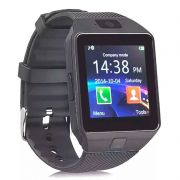 Relógio Inteligente Celular Smartwatch Chip Bluetooth Gsm Touch Camera Android iOS