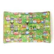 Tapetes Atividades Infantil Criança Educativo Dupla Face 180 cm x 120 cm Brinquedo Maternidade