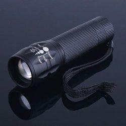 Lanterna Tática com Zoom e Strobo - Frete Grátis  - Thata Esportes
