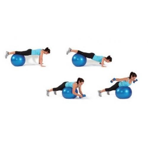 Bola para Ginástica com Pontas Massageadoras  - Thata Esportes