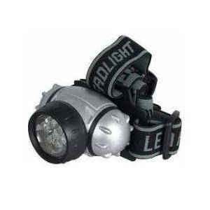Lanterna para Cabeça com 12 LEDs  - Thata Esportes
