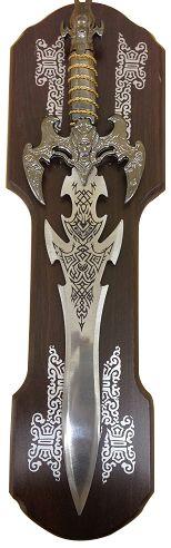 Espada Medieval com Suporte - Frete Grátis  - Thata Esportes