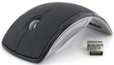 Mouse Dobrável Sem Fio  - Thata Esportes