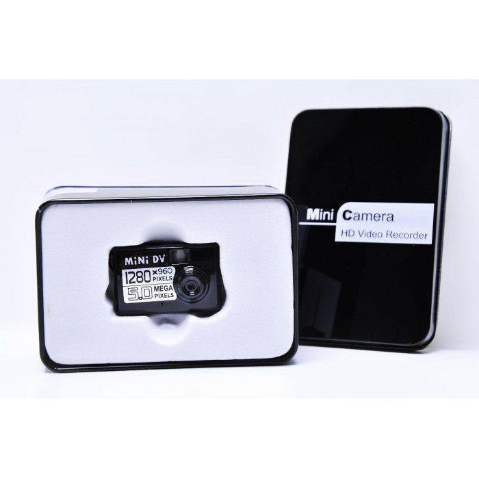 Mini Câmera Espiã Filmadora - Frete Grátis  - Thata Esportes
