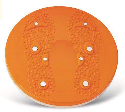 Disco de Exercicios com Placa de Massagem Reflexologica - Frete Grátis  - Thata Esportes