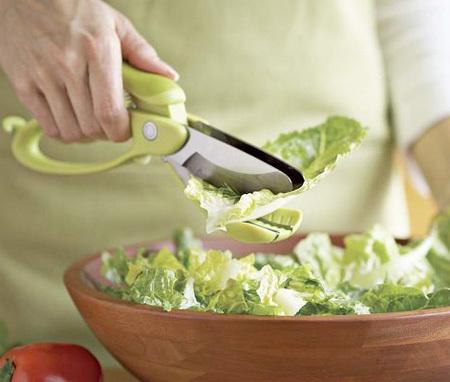 Tesoura Inox para Salada - Frete Grátis  - Thata Esportes