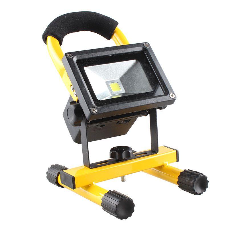 Refletor Holofote LED Recarregável  - Thata Esportes