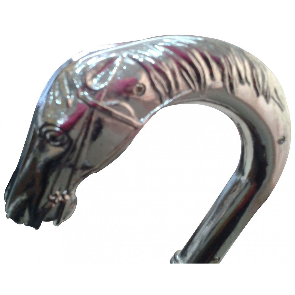 Bengala Cabeça Curva Metalizada - Frete Grátis  - Thata Esportes