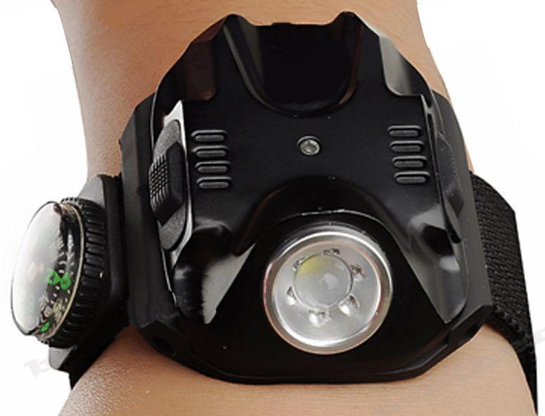 Lanterna de Led Recarregavel de Pulso - Frete Grátis  - Thata Esportes