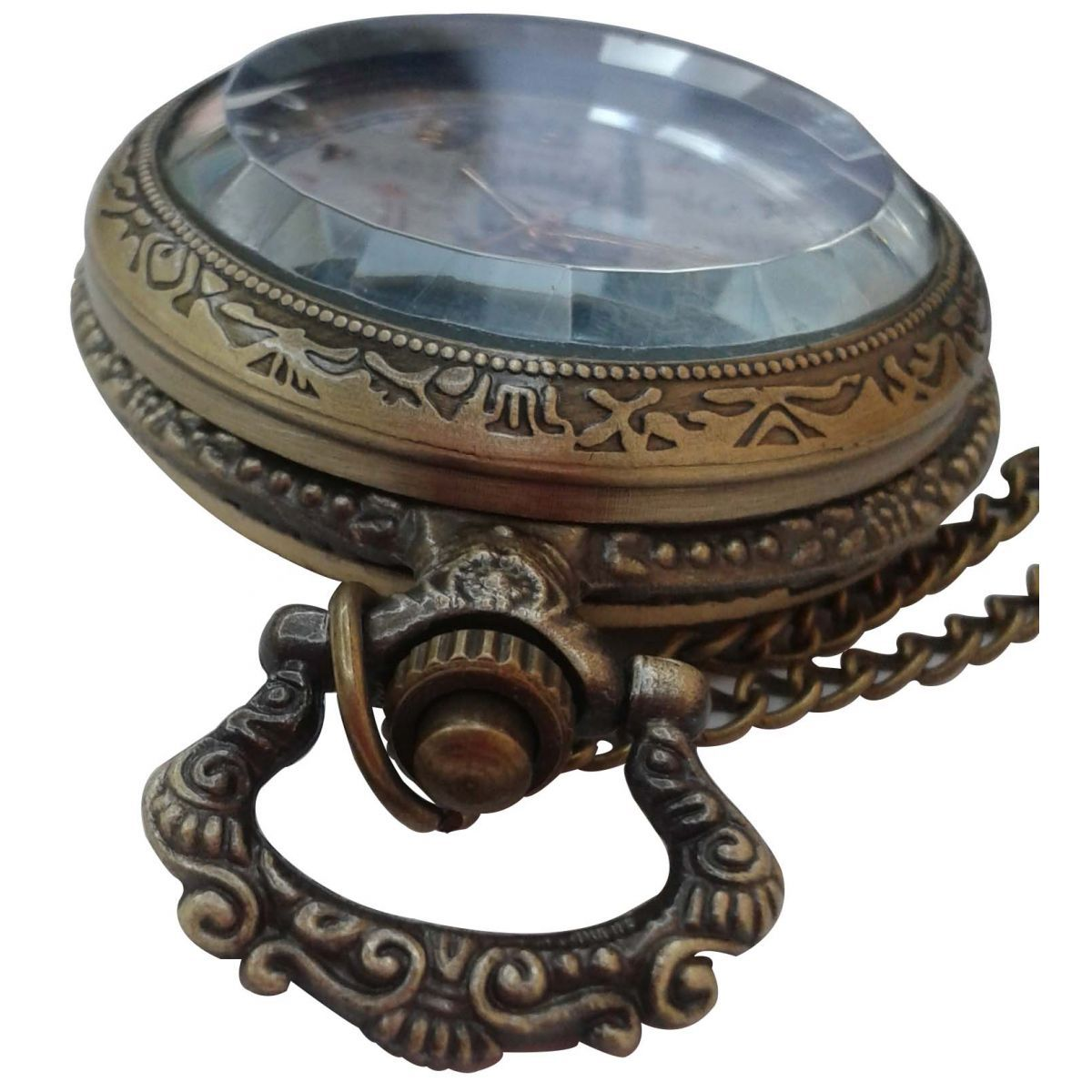 Relógio Vintage de Bolso   - Mundo Thata