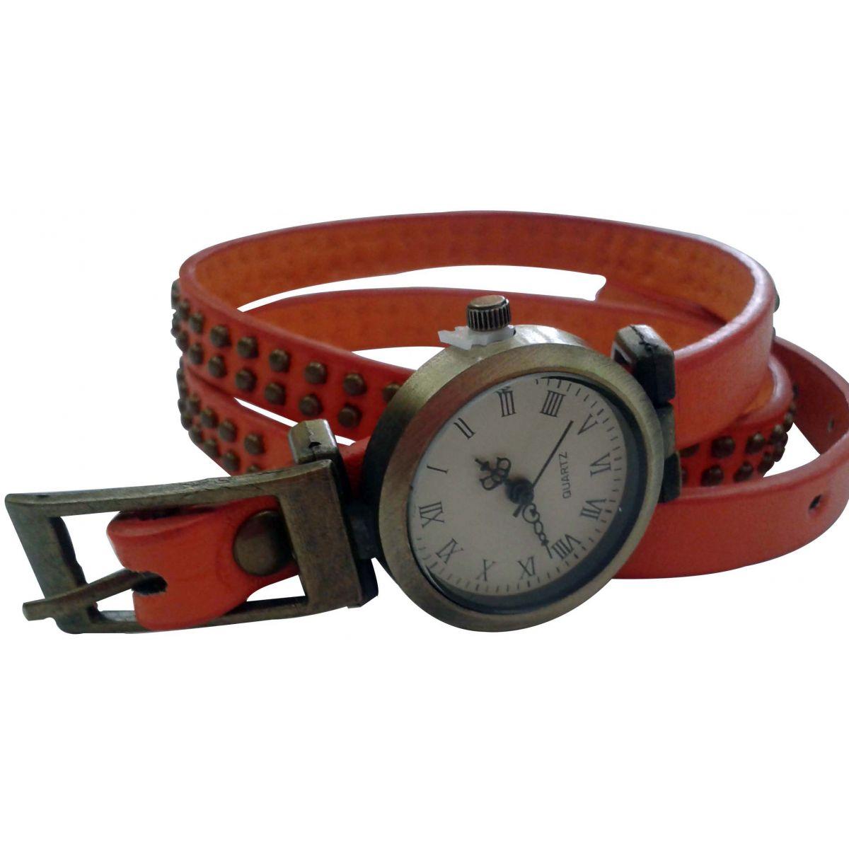 Relógio Feminino Pulseira Longa - Frete Grátis  - Thata Esportes