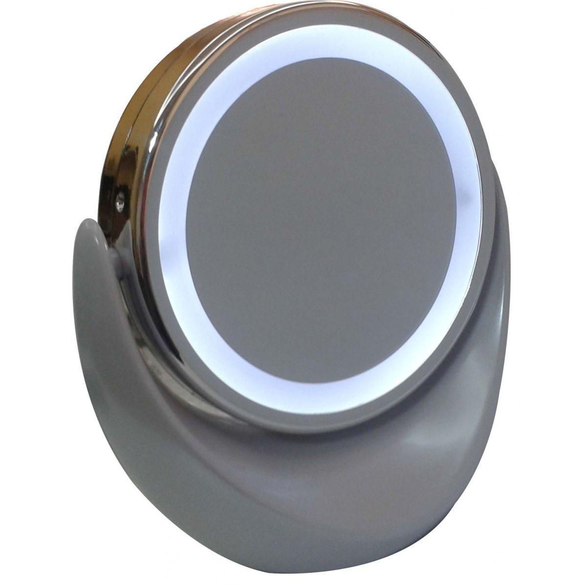 Espelho com Iluminação Luz de LED Duplo - Frete Grátis  - Mundo Thata