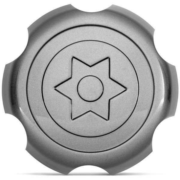 Calota Central  Mitsubith l 200 Pagero Ano 97 até 2005 - Frete Grátis  - Thata Esportes