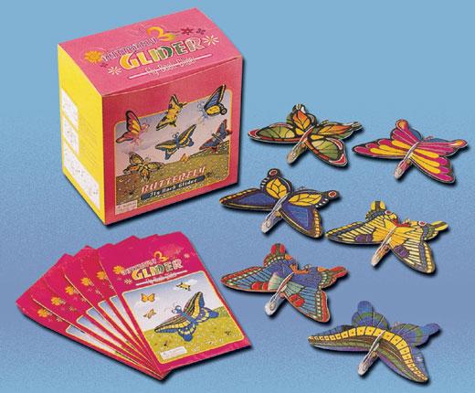 Borboleta Voadora de Isopor, Kit com 100 Unidades  - Thata Esportes