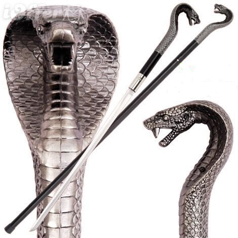 Bengala Espada Cobra Rei  - Thata Esportes