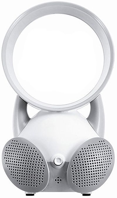 Mini Ventilador Sem Hélice Amplificador de Som 2 em 1 - Frete Grátis  - Thata Esportes