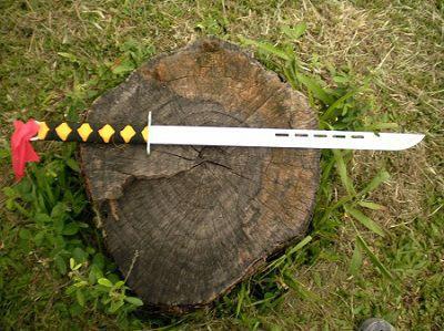 Espada Facão Kung Fu - 54 cm - Frete Grátis  - Thata Esportes