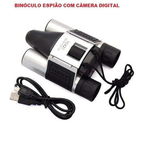 Binoculo Espião Filma e Fotografa - Frete Grátis  - Thata Esportes