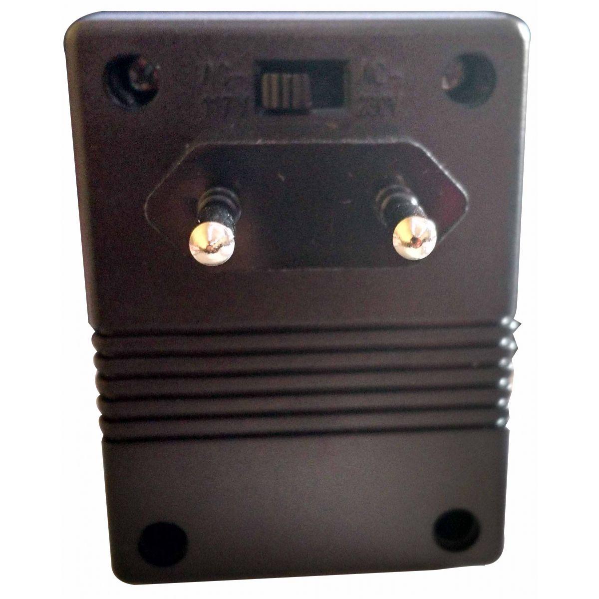 Transformador/Conversor de voltagem - 80 watts   - Thata Esportes