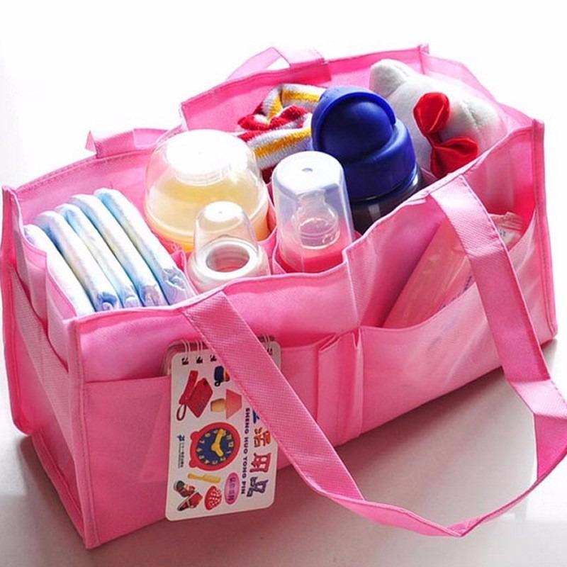 Bolsa Maternidade Organizadora de Fraldas e Acessórios  - Thata Esportes