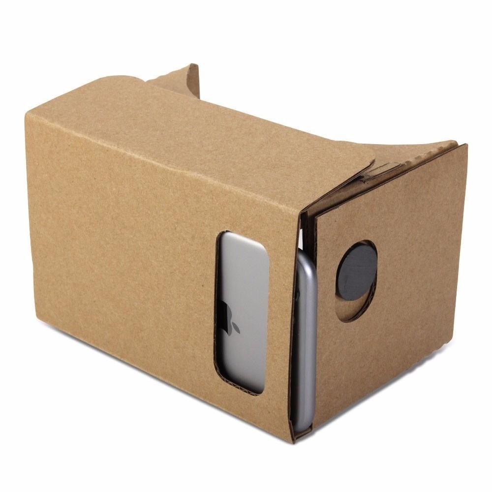 Óculos 3D Realidade Virtual Montável - Frete Grátis  - Thata Esportes