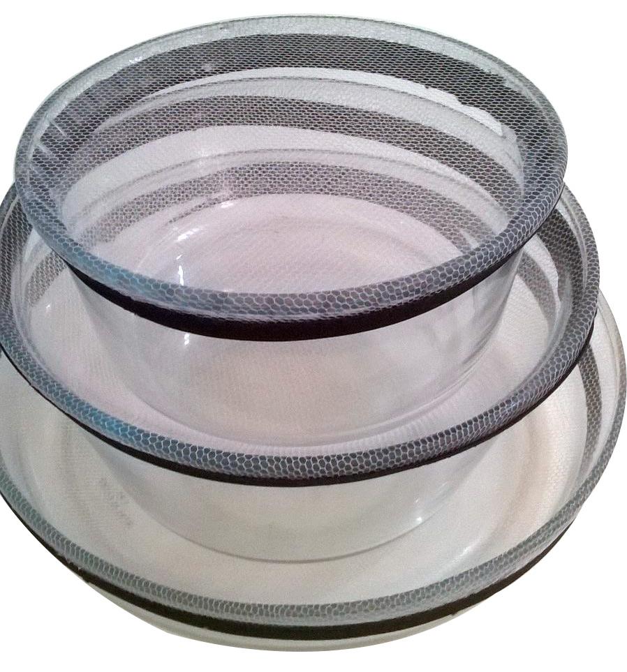 Kit  5 Protetores de Potes - Cobre e Protege Alimentos - Frete Grátis  - Thata Esportes