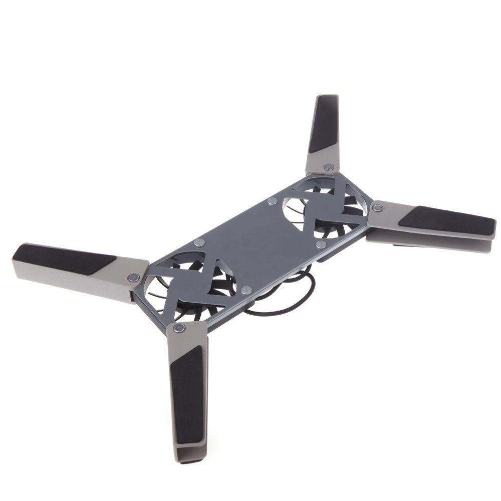 Mini Cooler Base Para Notebook Externo USB com LED  - Thata Esportes